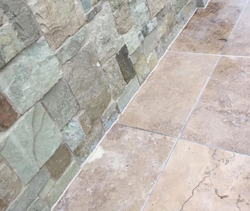 Travertine Stone – Sealed