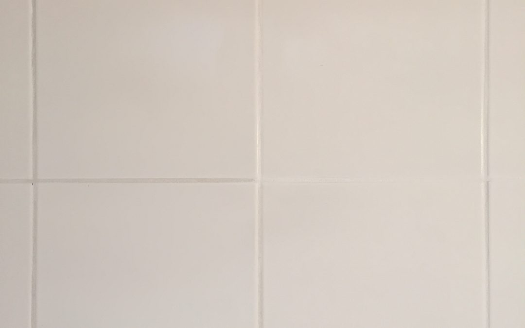 A grout colourant treatment in Portsea